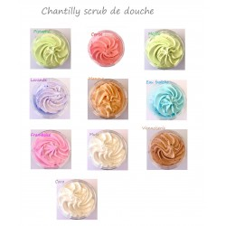Chantilly scrub de douche