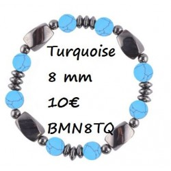 Turquoise 8 mm